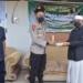 Bersama Bupati Saipul Mbuinga, Kapolda Gorontalo bersilaturahmi ke pengurus NU Pohuwato, Sabtu (8/5/2021).(f.hms)