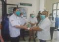 Gubernur Gorontalo, Rusli Habibie saat menyambangi Kantor BPOM. (f. Anki/nn)