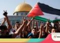 Wali Kota Gorontalo, Marten Taha ajak warga dirikan sholat Ghoib dan doa bersama untuk warga Palestina. (f. NN)