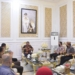Walikota Gorontalo Marten Taha menerima panitia Silatnas III di Rudis Walikota Gorontalo.(f.hms)
