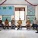 Walikota Gorontalo Marten Taha meninjau kesiapa peberapab pembatasan kegiatan masyarakat berskala mikro, Senin(31/5/2021).(f.hms)