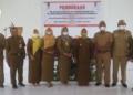 Wakil Bupati, Suharsi Igirisa, saat membuka kegiatan pelatihan dasar Calon Pegawai Negeri Sipil (CPNS) di lingkungan Pemerintah Daerah Kabupaten Pohuwato, Senin (21/06/2021).(f.humas)