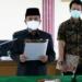 Sekda Buol Sufrizal Jusuf melantik sejumlah pejabat administrator dan pengawas.(f.hms)