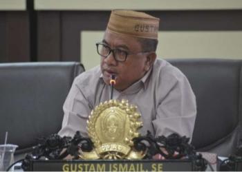 Anggota DPRD Gorut Gustam Ismail