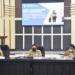 Wali Kota Gorontalo, Marten Taha saat memaparkan langkahnya dihadapan TPID. (istimewa)