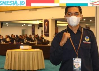 Salah satu tokoh Pemuda Sulbar, Januar resmi bergabung jadi Kader Partai Nasdem Sulbar. (istimewa/nn)