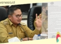 Wali Kota Gorontalo, Marten Taha angkat bicara soal dugaan kasus malpraktek yang menimpa salah satu warganya. (istimewa/nn)