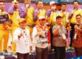 Tim Sepak Takraw Gorontalo berhasil menyabet medali emas pada PON XX Papua 2021. (istimewa/nn)