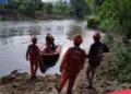 Dikabarkan depresi karena mengidap penyakit, sosok perempuan di Molosifat U nekad melompat ke Sungai. (istimewa/nn)