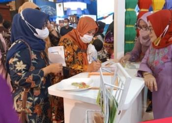 Produk UMKM asli Gorontalo jadi Primadona di Pameran Apeksi 2021 Smart City Expo. (istimewa/nn)