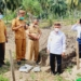 Peletakan batu pertama pembangunan rumah tahfiz di Kecamatan Paguat.